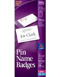 Side Loading Insertable Name Badges