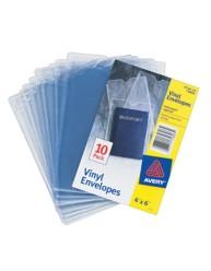 """Vinyl Envelopes, 4"""" x 6"""""""