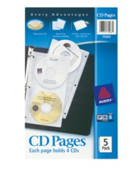 CD ROM Binder Pages