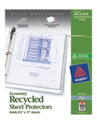Economy Sheet Protectors 75539, Packaging Image
