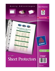 "5-1/2"" x 8-1/2"" Heavyweight Sheet Protectors"