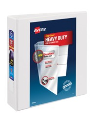 "Avery® Heavy-Duty View Binder with 2"" One Touch Rings 79192, Pakcaging Image"