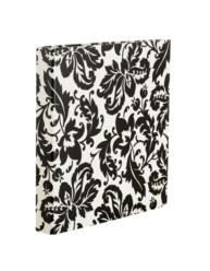 "Martha Stewart Home Office™ with Avery™ Heavy Paper Binder 79231, 1"" D-Rings, Black Damask, 8-1/2"" x 11"""