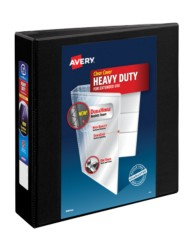 "Avery® Heavy-Duty View Binder with 2"" One Touch Rings 79692, Packaging Image"