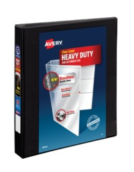 "Avery® Heavy-Duty View Binder with 1"" One Touch Rings 79699, Packaging Image"