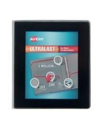 "Avery® Ultralast™ Binder with 1"" One Touch Slant Rings 79710, Packaging Image"