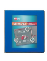"Avery® Ultralast™ Binders with 1-1/2"" Rings 79712, Packaging Image"