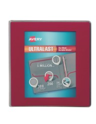"Avery® Ultralast™ Binders with 1-1/2"" Rings 79713, Packaging Image"
