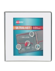 """Avery® Ultralast™ Binders with 1-1/2"""" Rings 79714, Packaging Image"""