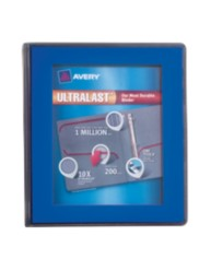 "Avery® Ultralast™ Binder with 1"" One Touch Slant Rings 79740, Packaging Image"