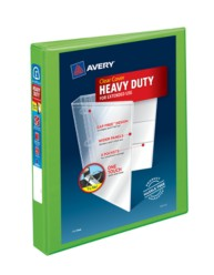 "Avery® Heavy-Duty View Binder with 1"" One Touch EZD™ Ring 79700, Application Image"