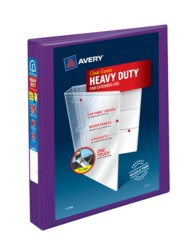 "Avery® Heavy-Duty View Binder with 1"" One Touch EZD Rings 79771, Packaging Image"