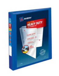 "Avery® Heavy-Duty View Binder with 1"" One Touch EZD Rings 79772, Packaging Image"