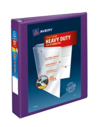 "Avery® Heavy-Duty View Binder with 1-1/2"" One Touch EZD Rings 79774, Packaging Image"