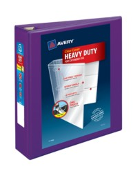 "Avery® Heavy-Duty View Binder with 2"" One Touch EZD Rings 79777, Application Image"