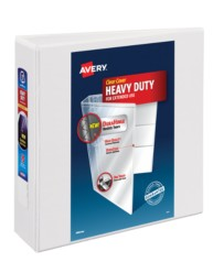"Avery® Heavy-Duty View Binder with 3"" One Touch Rings 79793, Packaging Image"