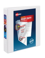 "Avery® Heavy-Duty View Binder with 1-1/2"" One Touch Rings 79795, Packaging Image"