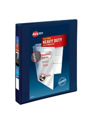 "Avery Heavy-Duty View Binder with 1"" One Touch EZD Rings 79809, Application Image"
