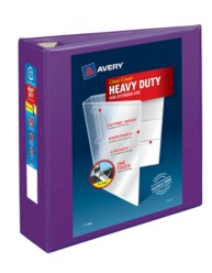 "Avery® Heavy-Duty View Binder with 3"" One Touch EZD Rings 79810, Packaging Image"
