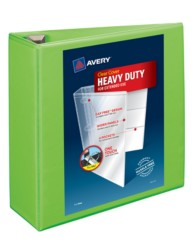 "Avery® Heavy-Duty View Binder with 4"" One Touch EZD Rings 79812, Packaging Image"