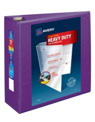 "Avery® Heavy-Duty View Binder with 4"" One Touch EZD Rings 79813, Packaging Image"