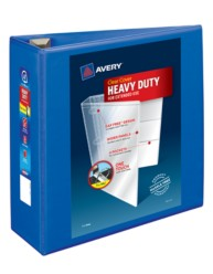 "Avery® Heavy-Duty View Binder with 4"" One Touch EZD Rings 79814, Packaging Image"