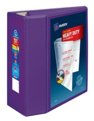 "Avery® Heavy-Duty View Binder with 5"" One Touch EZD Rings 79816, Packaging Image"