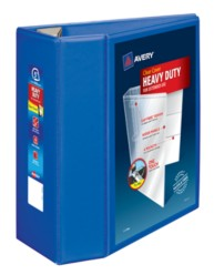 "Avery® Heavy-Duty View Binder with 5"" One Touch EZD Rings 79817, Packaging Image"