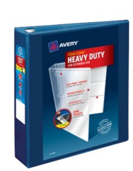 "Avery® Heavy-Duty View Binder with 2"" Rings 79832, Packaging Image"