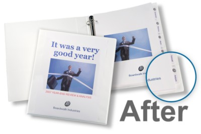 Impressive Makeover: Presentation Binders