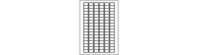 Afneembare prijsetiketten - 102 per vel - Portret
