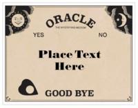 Ouija Board Template