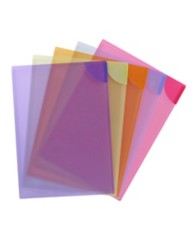 Assorted Colour Lock Files