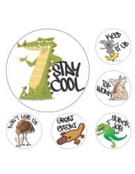 Merit Stickers Aussie Animals