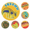 Merit Stickers, Aussie Art, 96/Pack