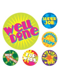Merit Stickers Brights