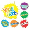 Merit Stickers, Paint Splats, 96/Pack