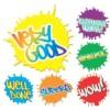 Merit Stickers, Paint Splats, 96/Pack