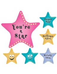 Merit Stickers Super Stars
