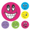 Merit Stickers, Mini Smiley Faces, 800/Pack