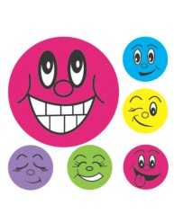 Merit Stickers Mini Smiley Faces