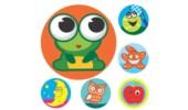Merit Stickers, Mini Assortment, 800/Pack