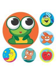Merit Stickers Mini Assortment
