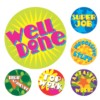 Merit Stickers, Mini Brights, 800/Pack
