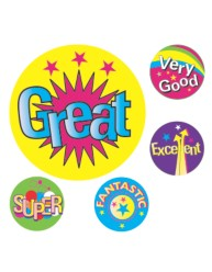 Merit Stickers Multi Captions