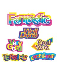 Merit Stickers Caption Shapes