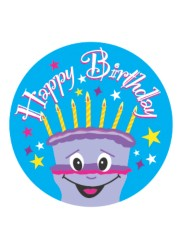 Merit Stickers 'Happy Birthday'