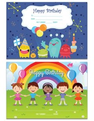 Merit Certificates Happy Birthday 69646