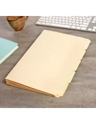 Buff Tabbed Folder