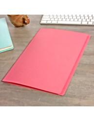 Pink Manilla File A4 20 Pack